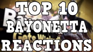 Top 10 Bayonetta In Smash Reactions!
