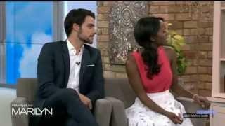"getlinkyoutube.com-Jack Falahee & Aja Naomi King in ""The Marilyn Denis Show"""