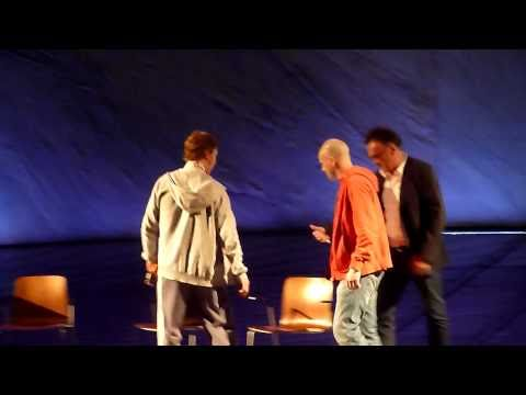 Frankenstein  Dramatic Need Q&A National Theatre - OLIVIER THEATRE