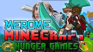 #MEROME WEBCAM Minecraft: Hunger Games w/Mitch! Game 572