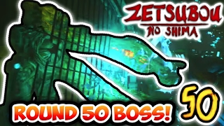 "getlinkyoutube.com-""ZETSUBOU NO SHIMA"" ROUND 50 BOSS FIGHT EASTER EGG! (Black Ops 3 Zombies Easter Egg Boss Fight!)"