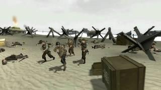 getlinkyoutube.com-GMOD D-Day Omaha Beach