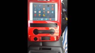 In Dash ipads for f150s. SOUNDMAN