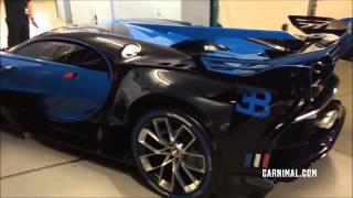getlinkyoutube.com-2017 New Bugatti Veyron Replacement [Bugatti Vision GT]