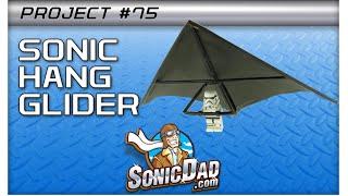 getlinkyoutube.com-The Sonic Lego Figure Hang Glider: Project #75
