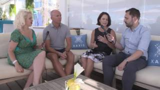 The Daily Show at Cannes Lions 2016 - Cary Tilds, GroupM, and Michel de Rijk, Xaxis