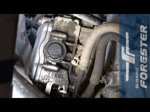 Замена заглушки распредвала Subaru Forester