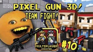 getlinkyoutube.com-Annoying Orange Plays - Pixel Gun 3D #10: Team Fight