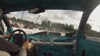 getlinkyoutube.com-Destructrion Big Bangers WORLD CUP  le 21 Juin 2015 Warneton Speedway Onboard 97 Henri