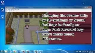 """getlinkyoutube.com-How to Speed Up Nintendo DS Emulator """"DeSmuME"""""""
