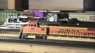 "getlinkyoutube.com-BNSF Birdwood Sub"" HO Scale -part 4"