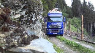 getlinkyoutube.com-Volvo Holztransporter
