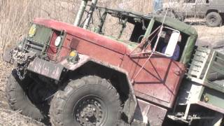 getlinkyoutube.com-DEUCE ARMY TRUCK at Oakville Mud Bog / SAND TROOPERS