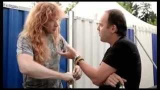 getlinkyoutube.com-Megadeth Slayer Anthrax Metallica Big four Behind the scenes