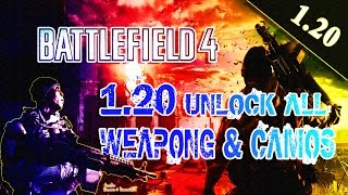 getlinkyoutube.com-[PS3/BF4/1.20] BATTLEFIELD 4 UNLOCK ALL w/ All Weapons + Camos