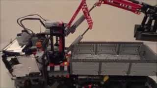 getlinkyoutube.com-Lego Technic 42043 Mercedes-Benz Arocs 3245 Part 4