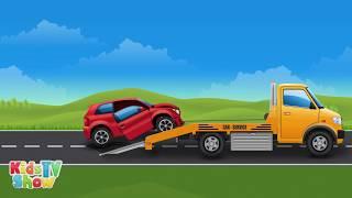 Big Trucks for Kids - Vehicles Compilation for Children - Kids TV Show