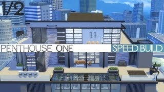 getlinkyoutube.com-The Sims 4 City Living - Speed Build - PENTHOUSE ONE (1/2)
