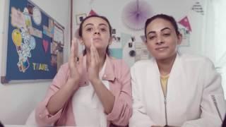getlinkyoutube.com-كيف البس الفوط – أولويز # كلام بنات    Using sanitary pads  - Always #GirlTalk
