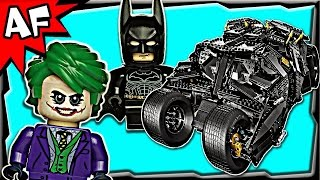 Batman TUMBLER UCS 76023 Lego DC Super Heroes Stop Motion Build Review