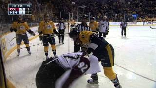 Gotta See It: Landeskog crushes Josi, answers to Weber