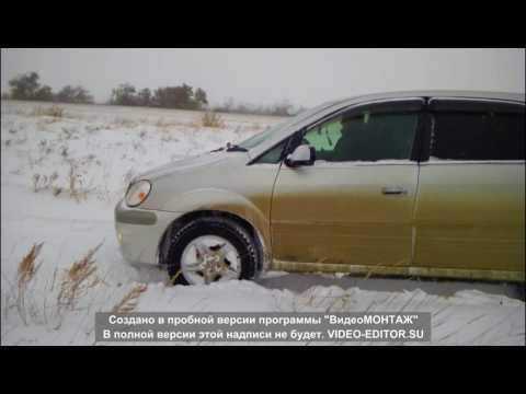 Toyota Nadia зимний OFF ROAD