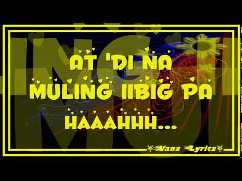 Jovit Baldivino - Dahil Mahal Kita Lyrics (Guns N' Roses Theme Song)