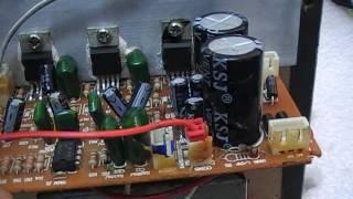 getlinkyoutube.com-วิธีการซ่อมเครื่องขยายเสียง (ปฏิบัติ 8 ) หม้อแปลงไฟฟ้า