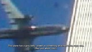 getlinkyoutube.com-100% WTC Drone Attack/Strike Plane PROOF (Many Witnesses)