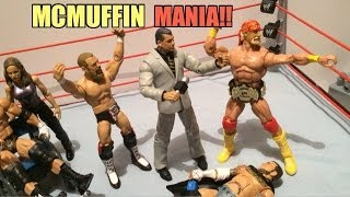 gts wrestling: raw deal! wwe mattel action figure matches animation! elites flashbacks more!