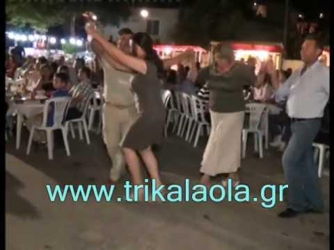 Τρίκαλα πανηγύρι Πρόδρομος κλαρίνα Κυρ.28-8-11 μέρ.1ο