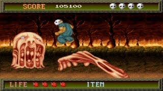 getlinkyoutube.com-Splatterhouse 1 Arcade Gameplay Playthrough longplay