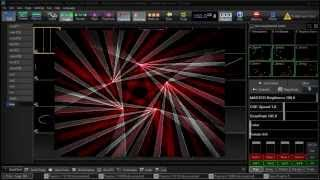 Circle of Lasers (like a Qlimax 2012) Pangolin Beyond Enhanced Reality Preview and Zones Control