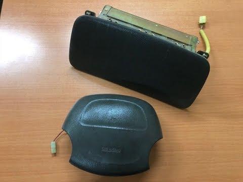 Сработают ли старые подушки безопасности - взрываем десять Airbag-ов разных годов одновременно