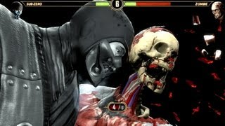 getlinkyoutube.com-Mortal Kombat Komplete Zombies! PC Gameplay Ultra High Brains :D