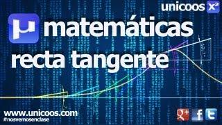 Imagen en miniatura para Ecuación recta tangente 01