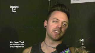getlinkyoutube.com-Bullet for My Valentine's  Matthew Tuck talks w Eric Blair about life ,love and Music 2013