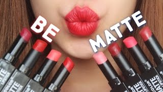 getlinkyoutube.com-[SWATCH + REVIEW] CITY COLOR BE MATTE LIPSTICK (WITH CC ENGSUB)