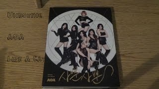 getlinkyoutube.com-Unboxing AOA Like a Cat 사뿐사뿐 [2nd Mini Album]