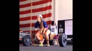 getlinkyoutube.com-Great This Girl Weightlifting With Just One Arm