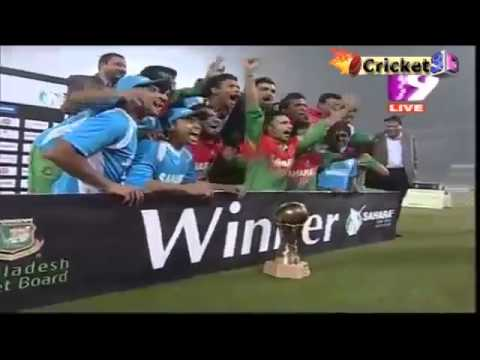 Presentation Cermony Bangladesh Vs West Indies 2012 ,winning moment