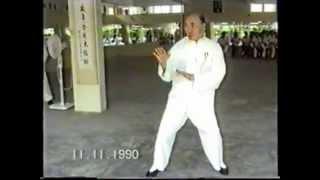"getlinkyoutube.com-11/11/1990祖师黄性贤演示白鶴拳 Grand Grandmaster Huang Sheng Shyan "" White Crane """