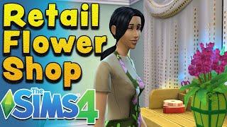 Sims 4 Seasons - Starting a Retail Flower Shop