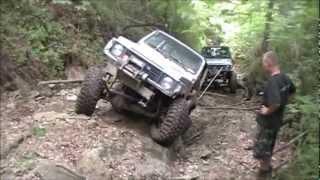 getlinkyoutube.com-Suzuki Samurai's Trailriding In Ohio