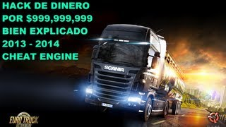 getlinkyoutube.com-Como poner dinero a Euro Truck Simulator 2(TRUCO CON CHEAT ENGINE FACIL Y BIEN EXPLICADO 2013-2014)