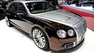 getlinkyoutube.com-2014 Bentley New Flying Spur by Mansory - Exterior Walkaround - 2014 Geneva Motor Show
