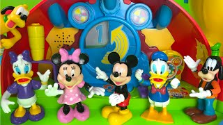 getlinkyoutube.com-Mickey Mouse Clubhouse Playset Minnie Mouse  Pluto Daisy Donald Duck Guffy from Disney Junior
