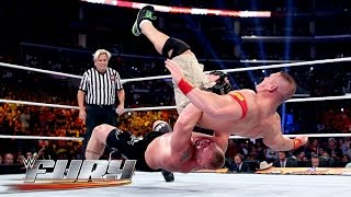 Suplex City - 35 back-breaking German suplexes: WWE Fury, February 15, 2015
