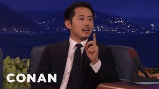 Steven Yeun: Conan's Been Mispronouncing My Name For Years  - CONAN on TBS