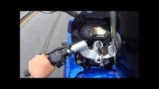 getlinkyoutube.com-BAJAJ PULSAR 220 CC TOP SPEED  maxima velocidad MEXICO osminmendo